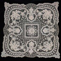 Скатерти и салфетки - Салфетка скатерть венецианское кружево, 80х83, 0