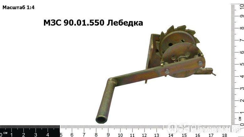 """Лебедка усиленная """"Клевер"""" на МЗС по цене 4553₽ - Грузоподъемное оборудование, фото 0"""