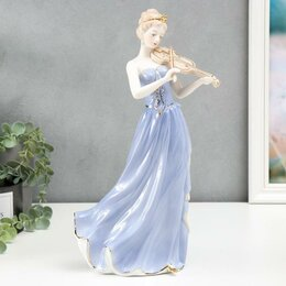 Новогодние фигурки и сувениры - Сувенир 'Девушка-скрипачка' 35х16х11,5 см, 0