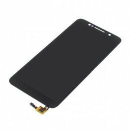 Дисплеи и тачскрины - Дисплей для Alcatel OT-5009D 1C в сборе с тачскрином (Черный), 0
