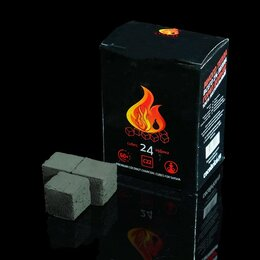 Уголь - Кокосовый уголь для кальяна Cocobrico, 24 кубика, 0