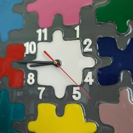 Часы настенные - Настенные часы glozis puzzle, 0