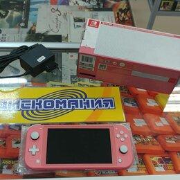 Игровые приставки - Nintendo Switch Lite (Коралловый), 0