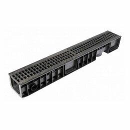 Строительные блоки - Лоток композитный с решеткой 200мм, 0