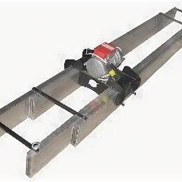 Глубинные вибраторы - Виброрейка алюм. телескопическая (электропривод) Vmax 3,5-6 (220), 0