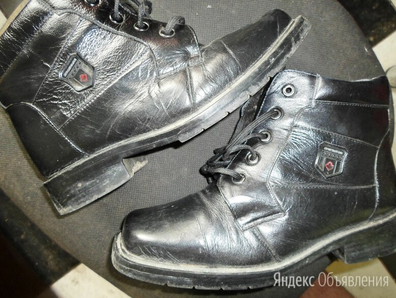 Ботинки мужские, кожа по цене 350₽ - Ботинки, фото 0
