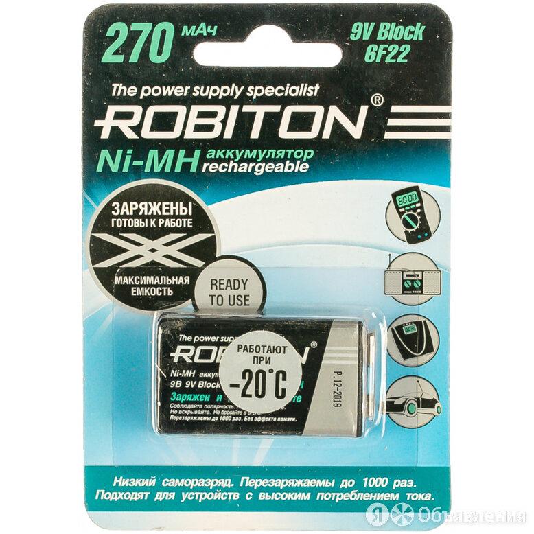 Аккумулятор Robiton RTU270MH-1 по цене 522₽ - Аккумуляторные батареи, фото 0
