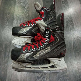 Аксессуары - Хоккейные коньки bauer vapor 38размер торг, 0
