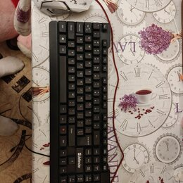 Комплекты клавиатур и мышей - Клавиатура и игровая мышь, 0