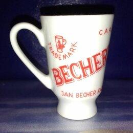Кружки, блюдца и пары - Рюмка (кружечка) Jan Becher, Чехословакия, винтаж, 0