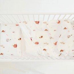 Постельное белье - Комплект с принтом Цирк 110*140 / 40*60 см, 0