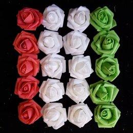 Краски - Латекс цветы 4см закрученые (оптом - 20 штук), 0