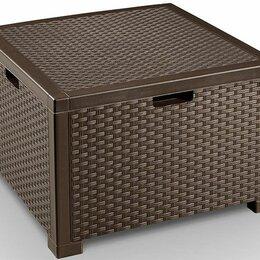 Корзины, коробки и контейнеры - Ящик для подушек для мебели цвет венге, 0