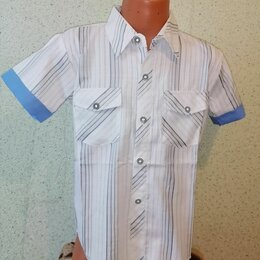 Рубашки - Рубашка в полоску, 0