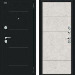 Входные двери - Входная дверь Граффити-1 Букле черное Look Art, 0