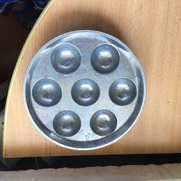 Сковороды и сотейники - Сковорода для выпекания пончиков и яичниц, 0