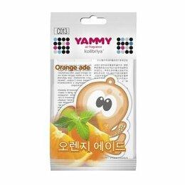 Подарочные наборы - Ароматизатор подвес. «Yammy»  картон с пропиткой Осьминог «Orange Ade»  (1/200), 0