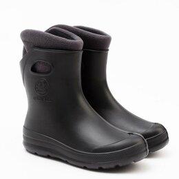 Резиновые сапоги и калоши - Сапоги, цвет чёрный, размер 39-40, 0
