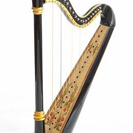 Щипковые инструменты - Resonance Harps Capris Арфа 21 струнная (A4-G1) цвет черный глянцевый, 0