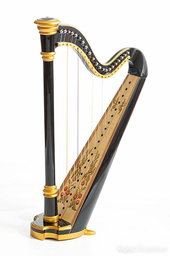 Resonance Harps Capris Арфа 21 струнная (A4-G1) цвет черный глянцевый по цене 23300₽ - Щипковые инструменты, фото 0