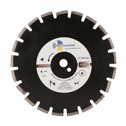 Диски отрезные - Алмазный сегментный диск Трио Диамант 350*10*25.4/12 Grand Asphalt GA773, 0