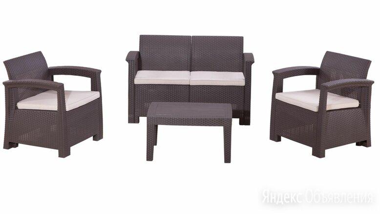 Комплект садовой мебели RATTAN Comfort 4 по цене 27000₽ - Комплекты садовой мебели, фото 0