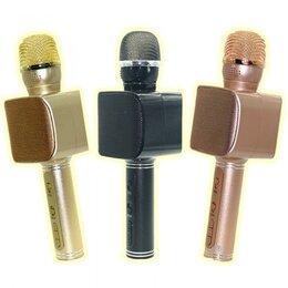 Микрофоны - Беспроводной микрофон караоке Bluethooth YS-68, 0