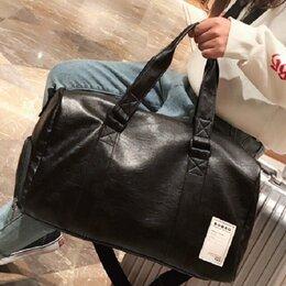 Дорожные и спортивные сумки - Чёрная сумка спортивная , 0