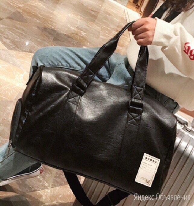 Чёрная сумка спортивная  по цене 1500₽ - Дорожные и спортивные сумки, фото 0