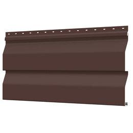 Сайдинг - Сайдинг металлический Корабельная Доска RAL8017 Шоколад ЭКОНОМ, 0