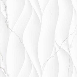 Плитка из керамогранита - Плитка из керамогранита Creto Декор Avenzo Silver W M/STR 30х90 R Glossy 1, 0