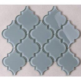 Мозаика - Мозаика Tessare 24,5х29,0х0,8см стекло бледно-зеленая шт(HSD200), 0