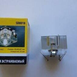 Встраиваемые светильники - Точечный светильник (8018 G9), 0
