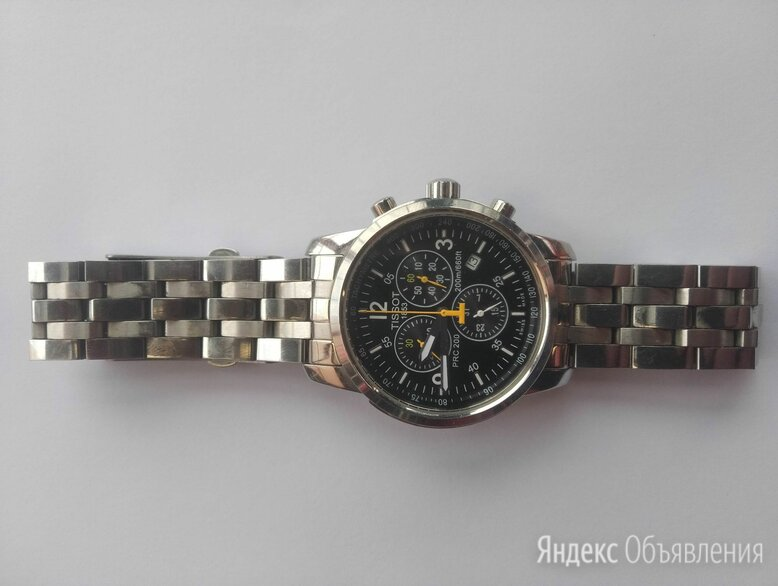 Часы tissot 1853 chronograph 200m/660t по цене 25000₽ - Наручные часы, фото 0