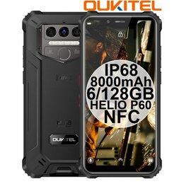 Мобильные телефоны - НОВИНКА Oukitel WP9 Black IP68 6/128GB 8000mAh HelioP60 NFC, 0