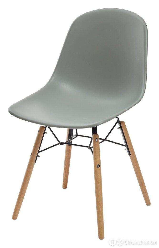 Стул BONNIE 292-DPP серый с деревянными ножками М-City по цене 3735₽ - Кресла и стулья, фото 0