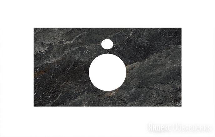 Столешница Kerama Marazzi для накладных раковин 100 см Риальто темный серый по цене 10370₽ - Комплектующие, фото 0