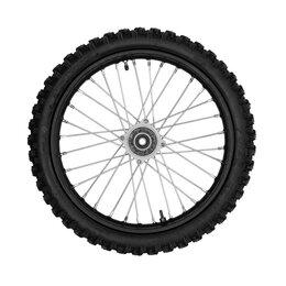 Обода и велосипедные колёса в сборе - Колесо переднее 70/100-17 в сборе, питбайк, 0