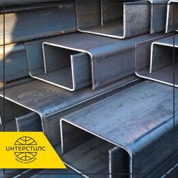 Металлопрокат - Швеллер стальной ст.3 120x60x5 мм ГОСТ 8240-97 гнутый, 0
