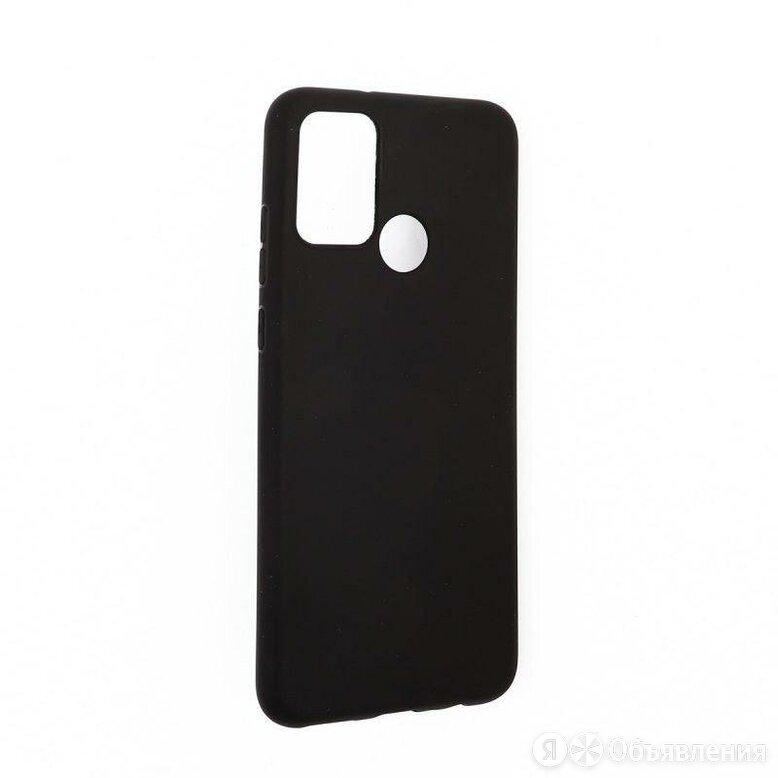 Силиконовый чехол «LP» для Huawei Honor 9A TPU (черный непрозрачный) европакет по цене 195₽ - Чехлы, фото 0