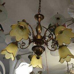 Люстры и потолочные светильники - Люстра подвесная латунь, 0