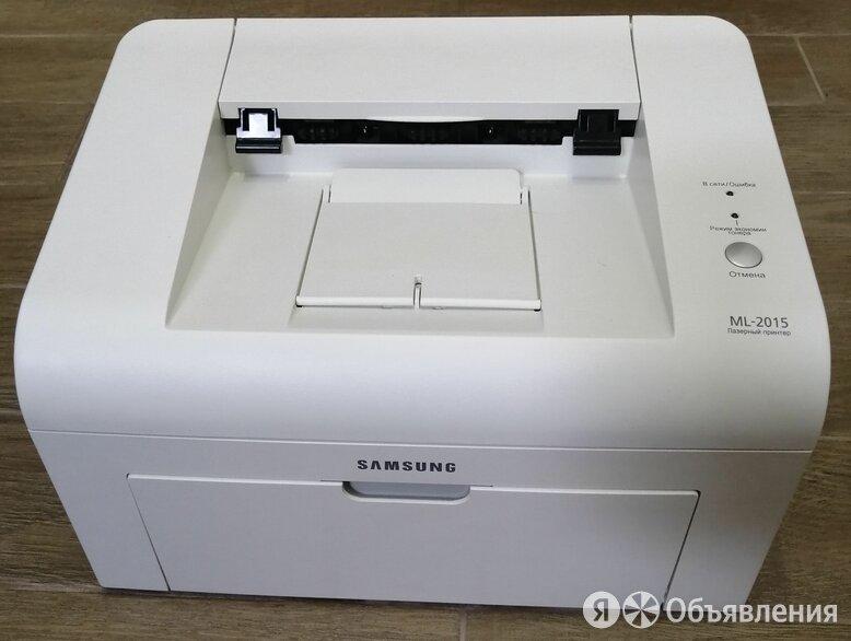 Принтер лазерный Samsung ML-2015  по цене 3200₽ - Принтеры, сканеры и МФУ, фото 0