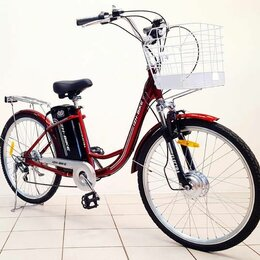 Мото- и электротранспорт - Электровелосипед IB-2E 250W дамский со склада, 0