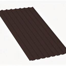 Кровля и водосток - Профнастил МП20 A Полиэстер 0,45 мм RR 32 Темно-коричневый, 0