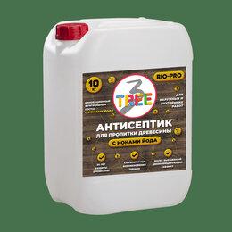 Антисептики - Антисептик 3 tree bio для пропитки древесины 10 кг, 0