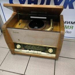 """Проигрыватели виниловых дисков - Сетевая ламповая радиола 1-го класса """"Кама-62"""", 0"""