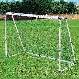 Аксессуары и принадлежности - Ворота для футбола DFC GOAL250S 8х6ft пластик, 0