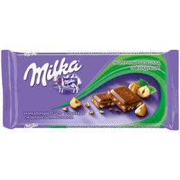 """Продукты - Шоколад Milka """"Молочный с фундуком"""", 90г, 0"""