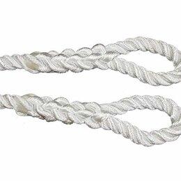 Веревки и шнуры - Трос буксировочный полиамидный д.32 мм L=8,5м, 0