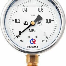 Измерительные инструменты и приборы - Манометр ТМ-520Р.00 (0-2,5МПа) G1/2.1,0 виброустойчивый «сухой», 0